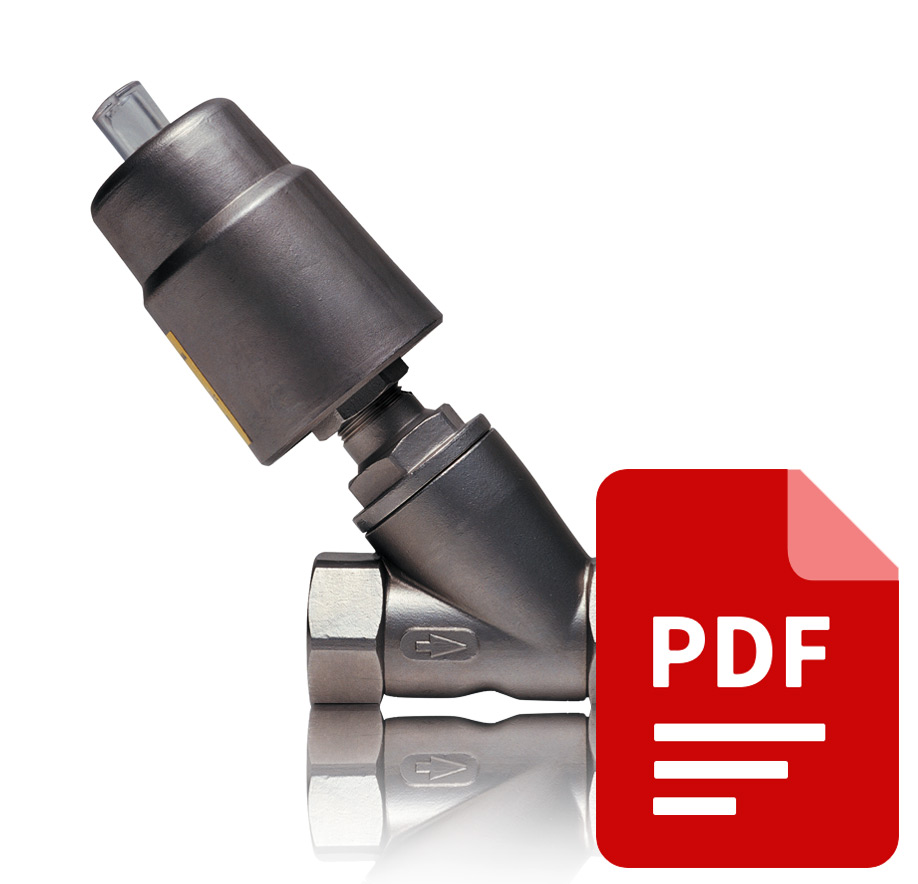 Пневматический отсечной клапан PKV-50